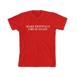 Make Festivals Great Again Red