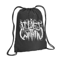 Logo Black Cinch Bag