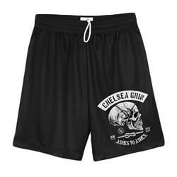 Skull Bind Black Shorts