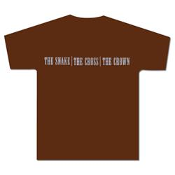 The Snake The Cross The Crown Logo Brown