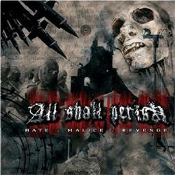 Hate. Malice. Revenge. CD