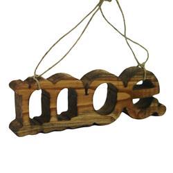 Logo Wooden Ornament