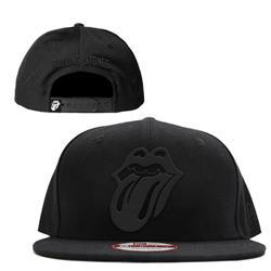 Tongue Logo Black On Black Snapback