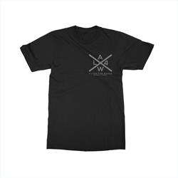 X Logo Black T-Shirt