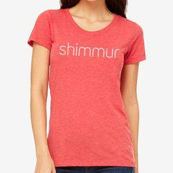 Fitted Girls' Tee Red Triblend