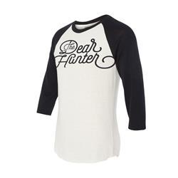 The Dear Hunter White Baseball T-Shirt