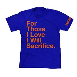 For Those I Love Mets Orange & Blue