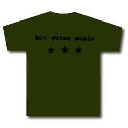 Hot Water Music - Stars Army Green