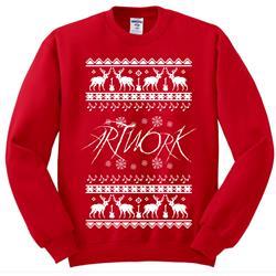 Xmas Sweater Red Crewneck
