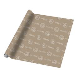 3 Sheets of Logo Wrapping Paper