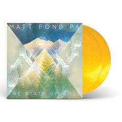 Matt Pond The State Of Gold Translucent Gold Vinyl 2Xlp