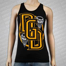Diamond Black Tank Top
