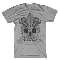 Tenta-Skulls Heather Grey