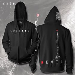 Devil Black Zip-Up