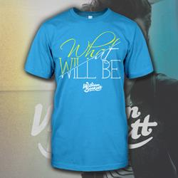What Will Be Script Teal
