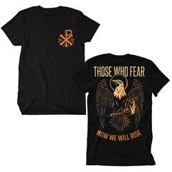 Rise Eagle Black T-Shirt *Final Print*