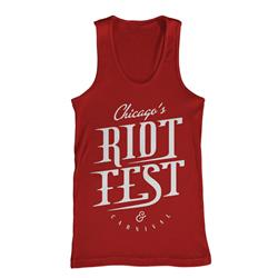 Chicago Riot Fest Red
