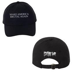 Make America Brutal Again Black Dad Hat
