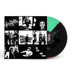 No Child Left Behind Half Green / Half Black Splatter