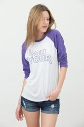 4OU Tour  Vintage Purple/Heather White