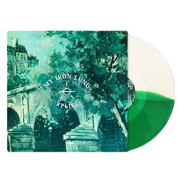 Relief Half Clear Half Kelly Green LP