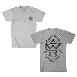 Monogram Heather Grey