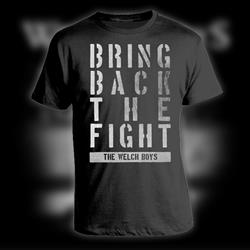 Bring Back The Fight Black T-Shirt