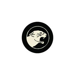 Panther Black/White Slipmat