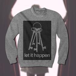 Keys Heather Grey Crewneck Sweatshirt