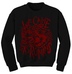 Wolf Scratch Black Crewneck