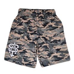 Team Logo Camo Shorts