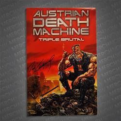 Triple Brutal Signed Poster
