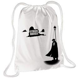 Hartigan White Cinch Bag