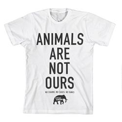 Animals Are Not Ours White