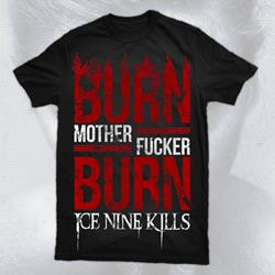 Burn Black T-Shirt