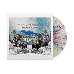 Heavy Love Clear W/ Red/Blue Splatter