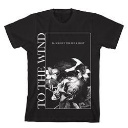 Side Square Black T-Shirt