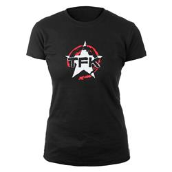 Star Logo Ladies Black T-Shirt