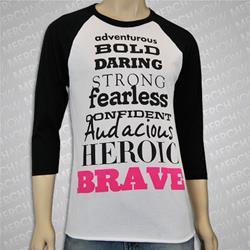 Brave Black/White