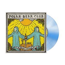 Death Chorus White/Light Blue Starburst LP