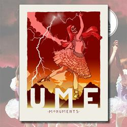 Ume Monuments Silkscreen Poster