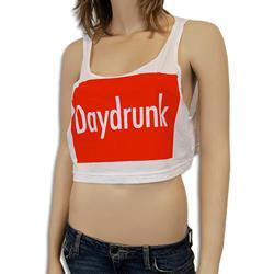 Daydrunk White Crop Top