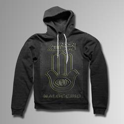 Malocchio Heather Charcoal Hooded