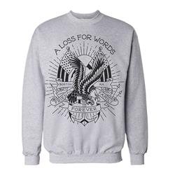 Tattoo Heather Gray Crewneck