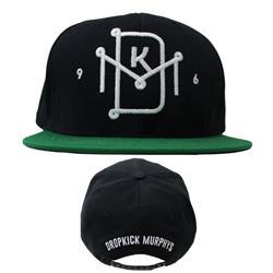 Symbol Black/Green Snapback