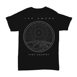 Linear Black T-Shirt