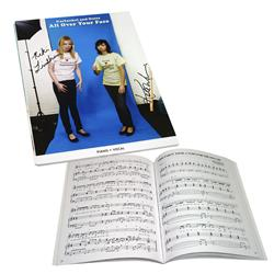 All Over Your Face Signed Sheet Music