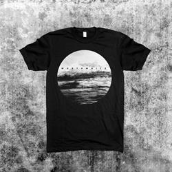 Waves Black T-Shirt