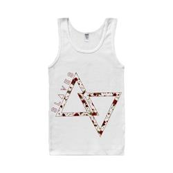Floral Triangle White