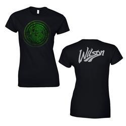 Swirl Black Girl's T-Shirt